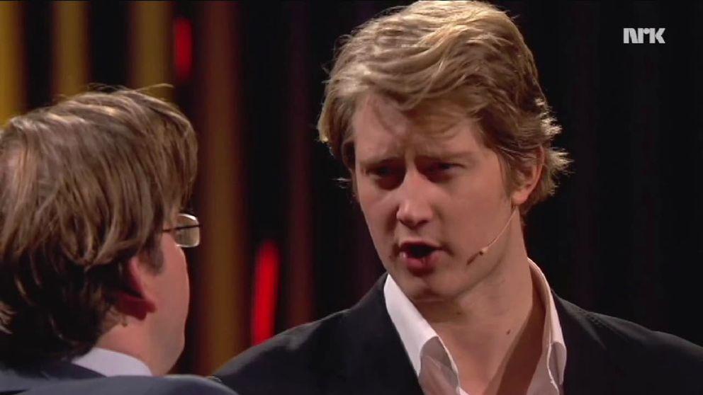 NRK Humors parodi på Skavlan