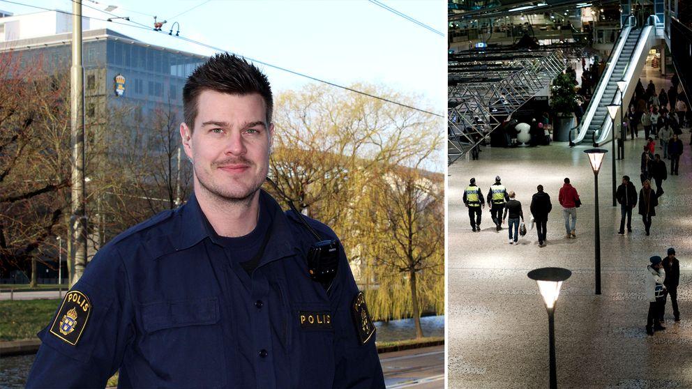 – De senaste två, tre månaderna har det eskalerat fullständigt, säger polisen Peter Larsson.