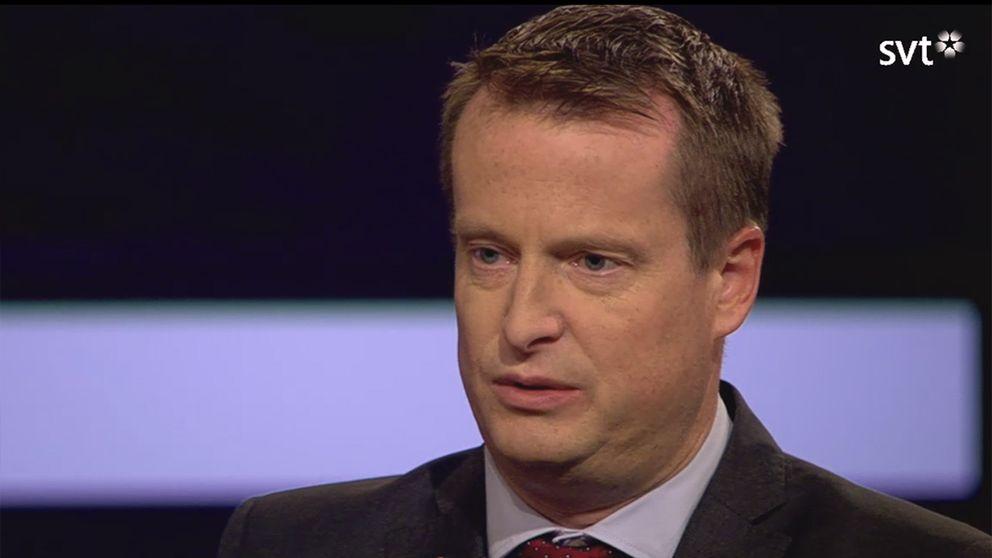 Inrikesminister Anders Ygeman (S) i SVT:s Agenda.