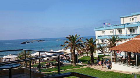 Hotell på Kreta.
