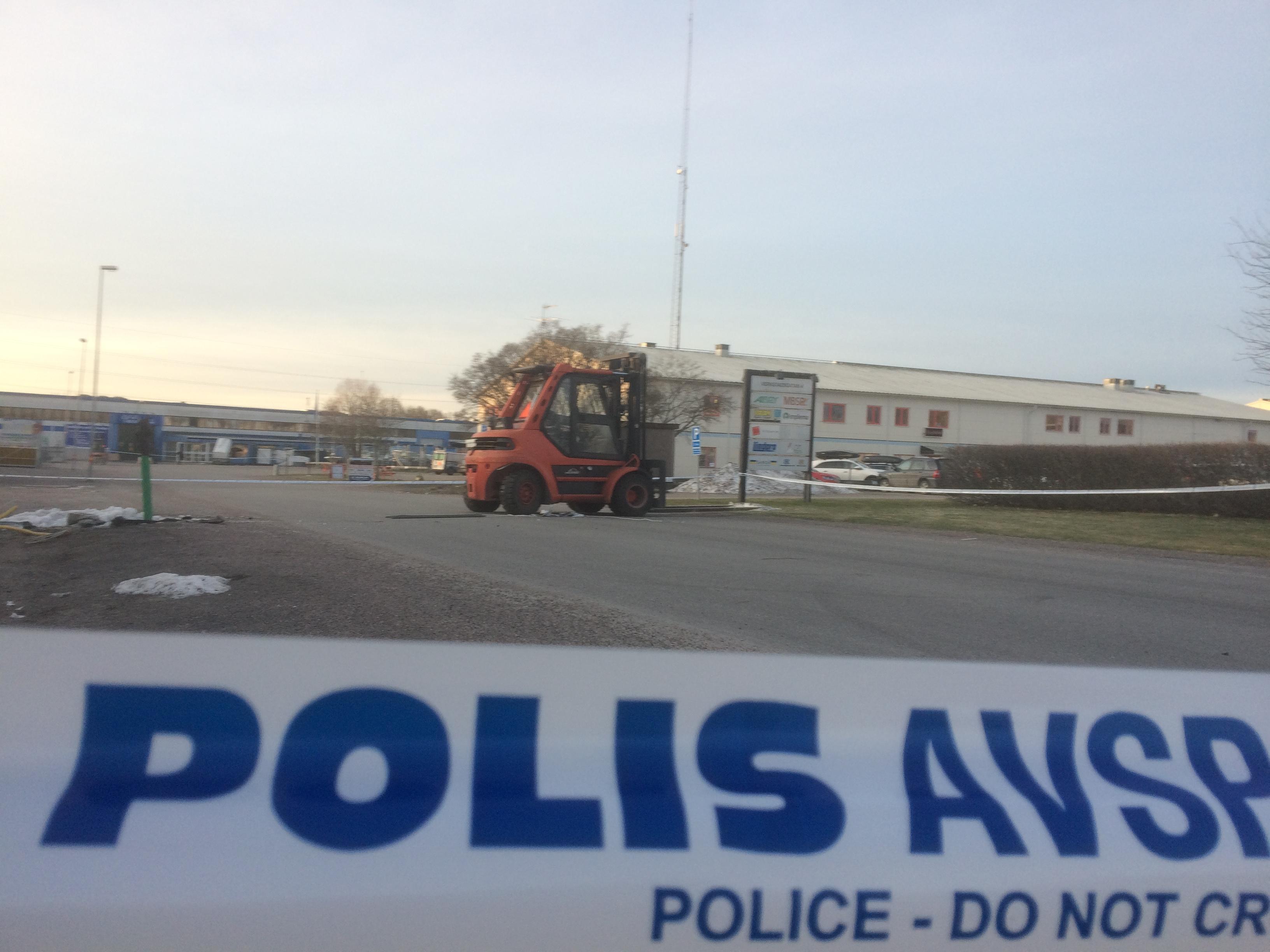 Vaxjorymling togs av polis i orebro