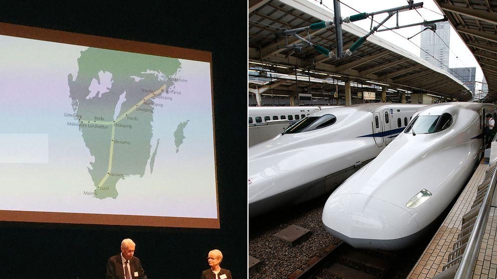 Tågstoppskartan visar hur Jönköpings län blir den stora vinnaren i tågförhandlingarna.