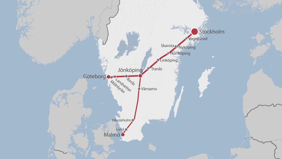 tåg stockholm malmö förseningar