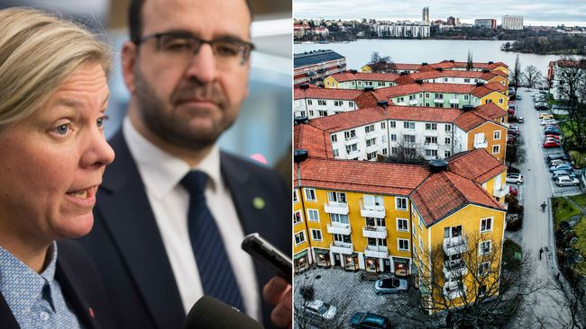 Finansminister Magdalena Andersson (S) och bostadsminister Mehmet Kaplan (MP) fortsätter samtalen med oppositionen om bostadspolitiken under våren.