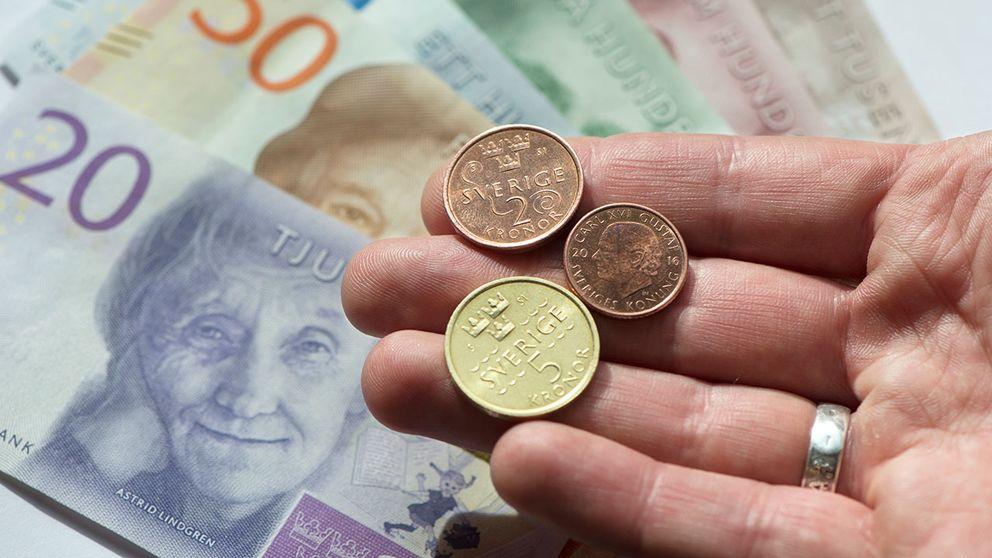 De nya svenska mynten.