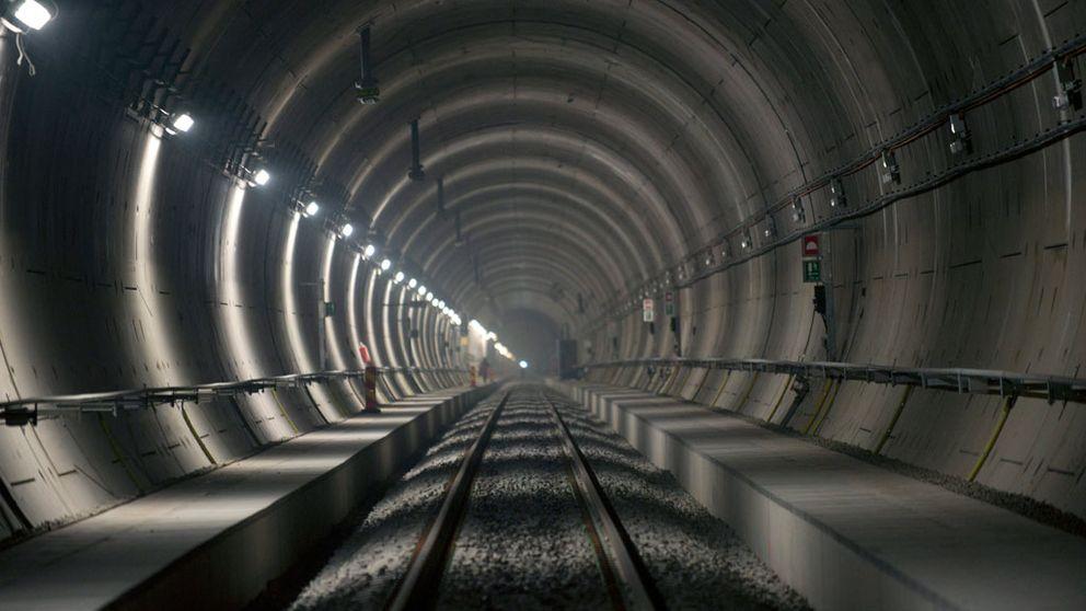 Spårfel försenar tågen genom Hallandsåstunneln