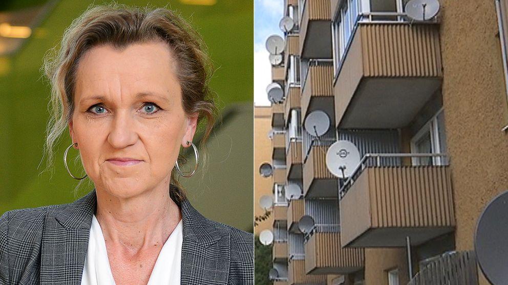 Boel Godner (S) kommunstyrelsens ordförande, Södertälje.