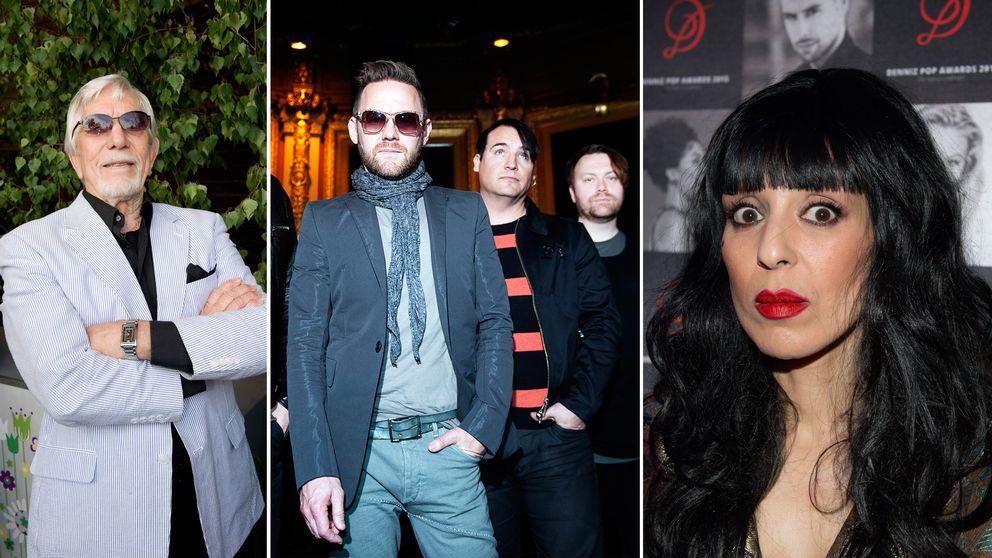 Owe Thörnqvist, bandet Kent och Leila K är alla invalda i Swedish music hall of fame.