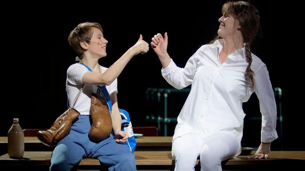 Grim Lohman och Nina Norblad i Billy Elliot.