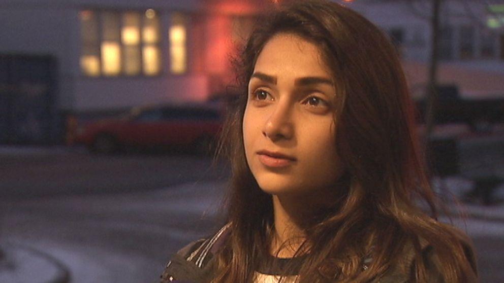 Maroa Hegazi har kommit till Sverige efter en månad på flykt.