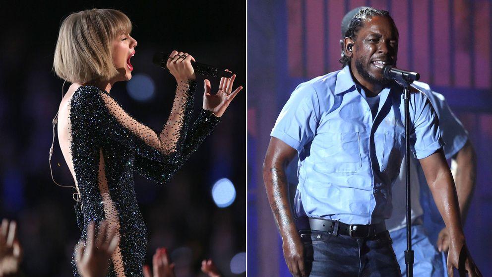 Taylor Swift och Kendrick Lamar stal såväl showen som flest priser på Grammy Awards 2016.