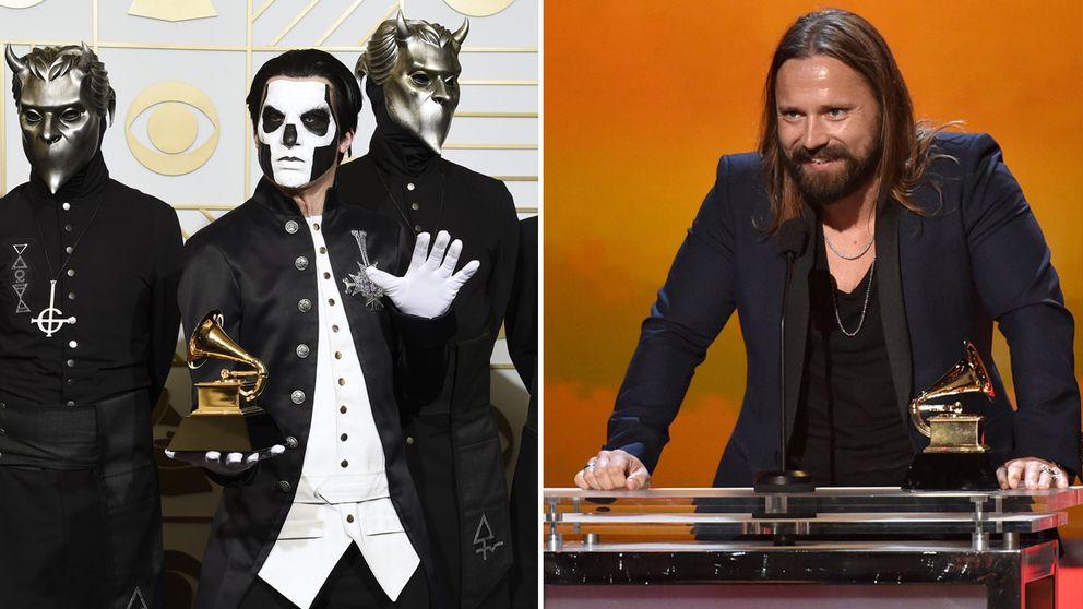 Ghost och Max Martin fick priser.