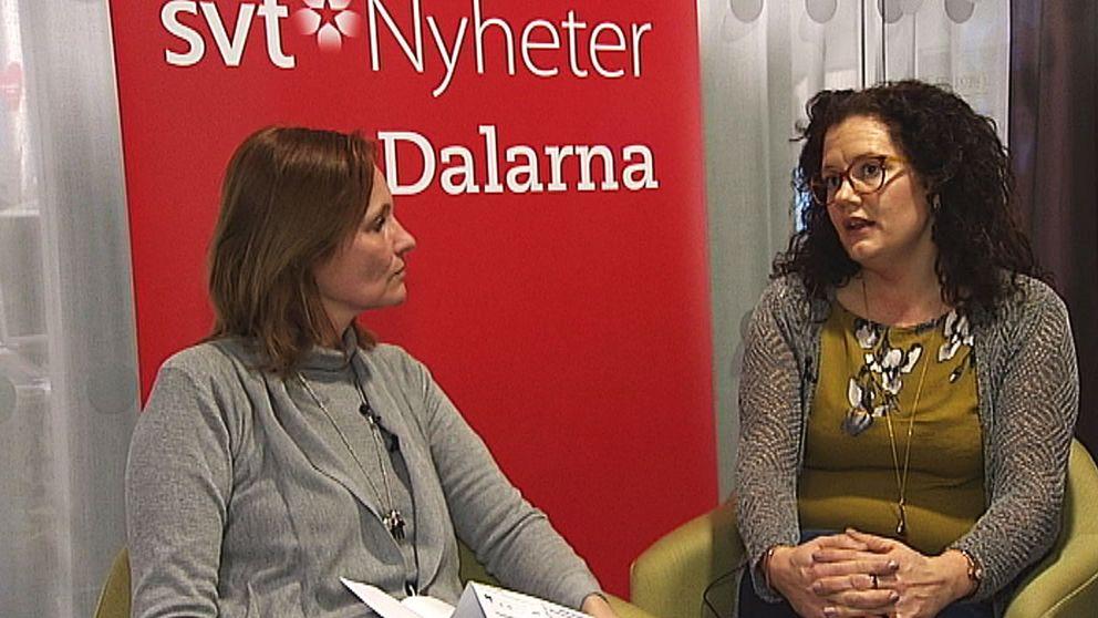 Linda Carlsson är kurator inom Ludvika kommun.