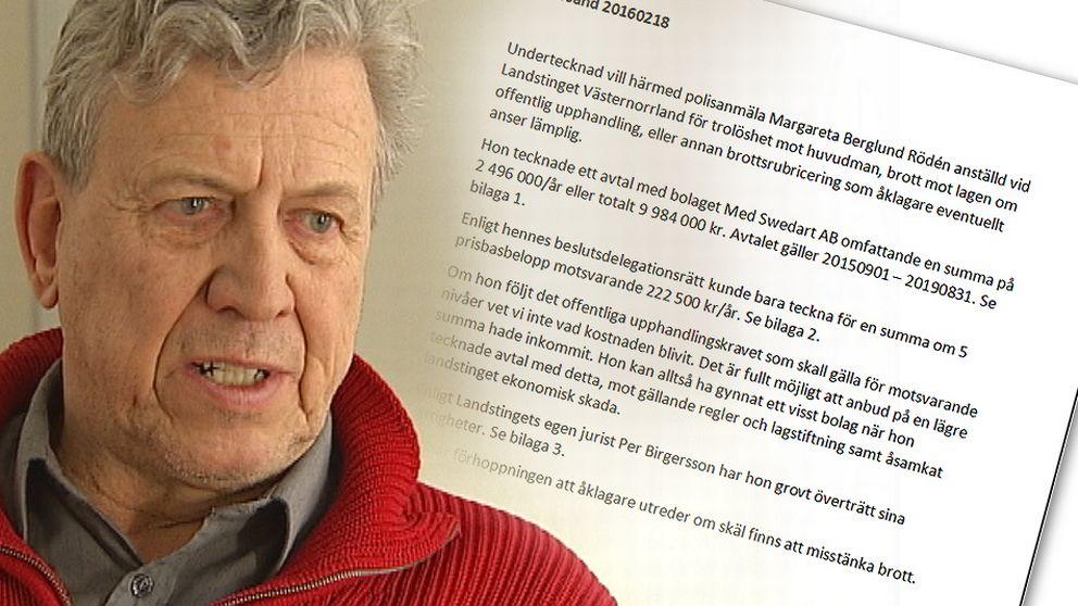 Lars Gunnar Hultin (V) – fallet måste få rättslig prövning