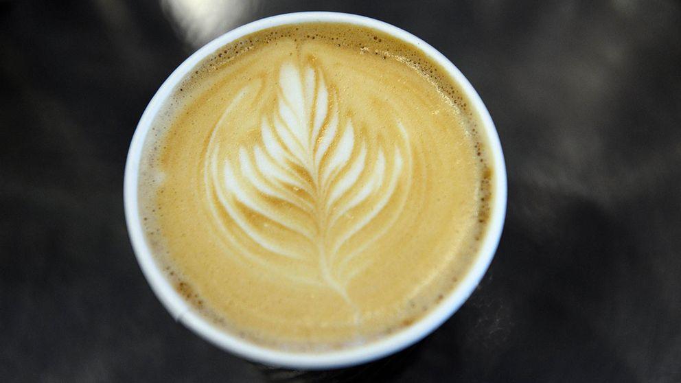 Kaffe latte.