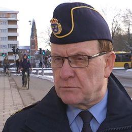 Uppsalapolisens Christer Nordström