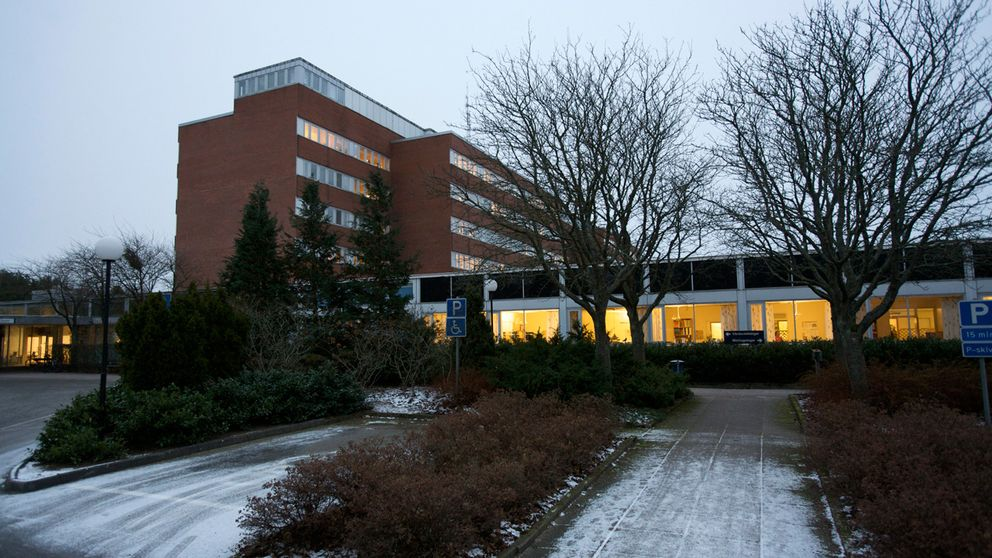 Exteriör Varbergs sjukhus