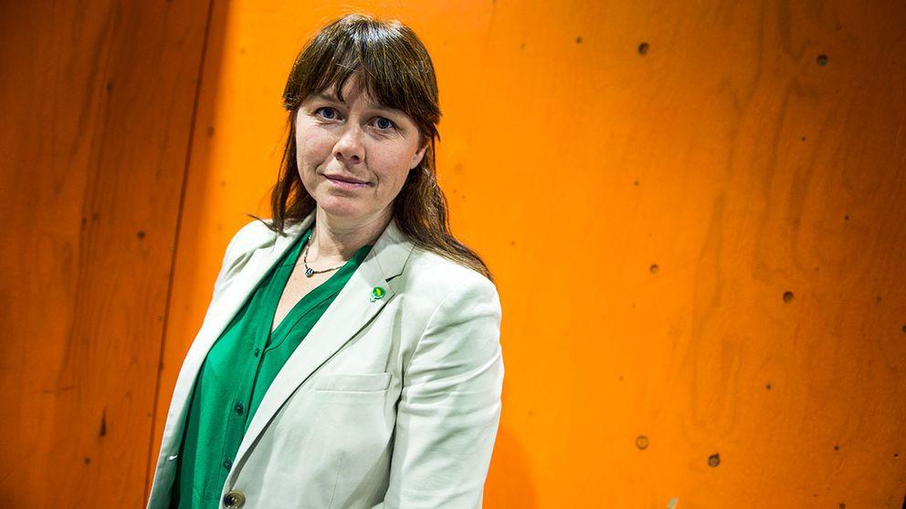 Åsa Romson (MP), språkrör.