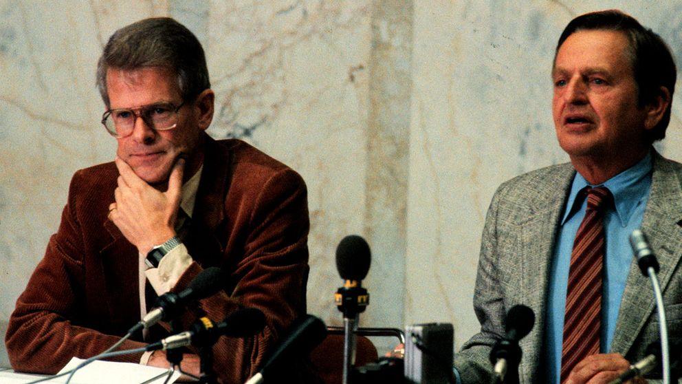 Ingvar Carlsson och Olof Palme