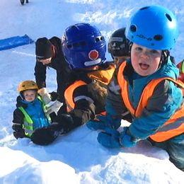Förskolan på Teg i Umeå har inga problem med sjukskrivningar på grund av stress.