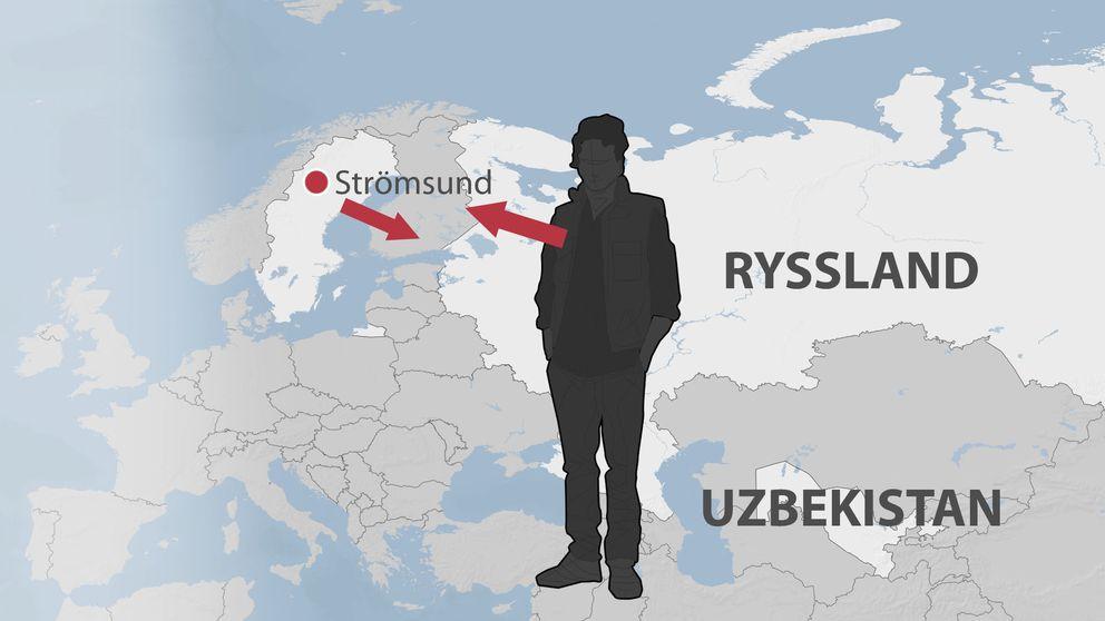 En bosatt i Moskva misstänks för anstiftan av försök till mord på imamen Nazarov i Strömsund.