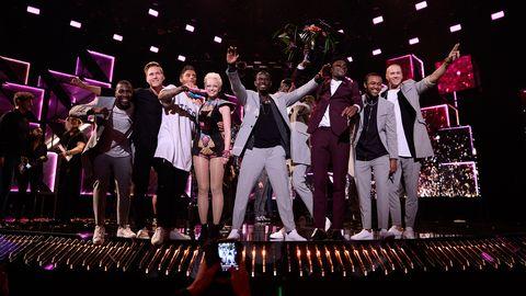 Panetoz, SaRaha, Boris René och Samir & Viktor är i final i Melodifestivalen 2016