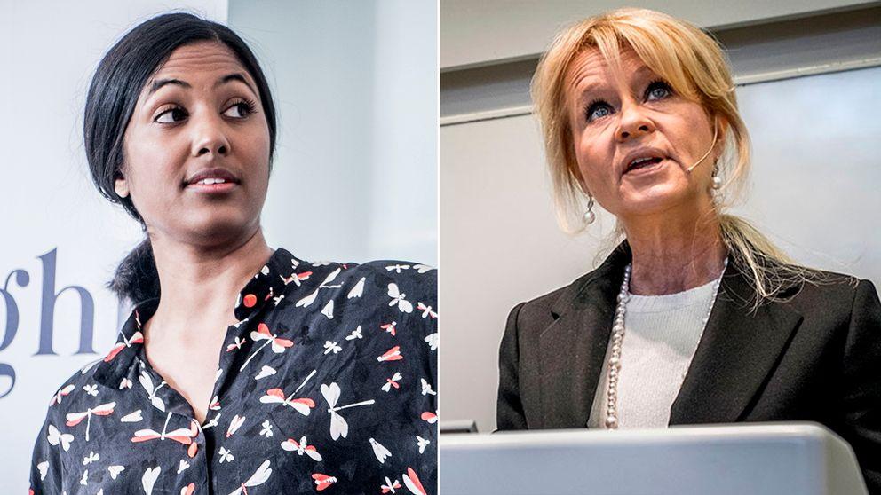 Amanda Lundeteg, vid stiftelsen Allbright, anser det vara tragiskt att så få vd:ar i svenska läns största aktiebolag är kvinnor – SEB:s vd Annika Falkengren är en av få visar stiftelsens siffror.