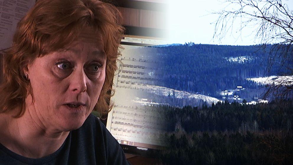 """I dag, på internationella kvinnodagen, uruppförs Micaela Hoppes verk verk """"Blå berg skimrar i motljus""""."""