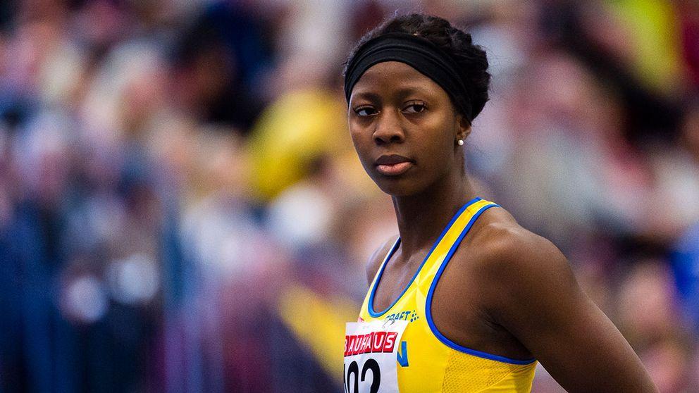 Khaddi Sagnia, en av åtta svenskar i inne-VM.