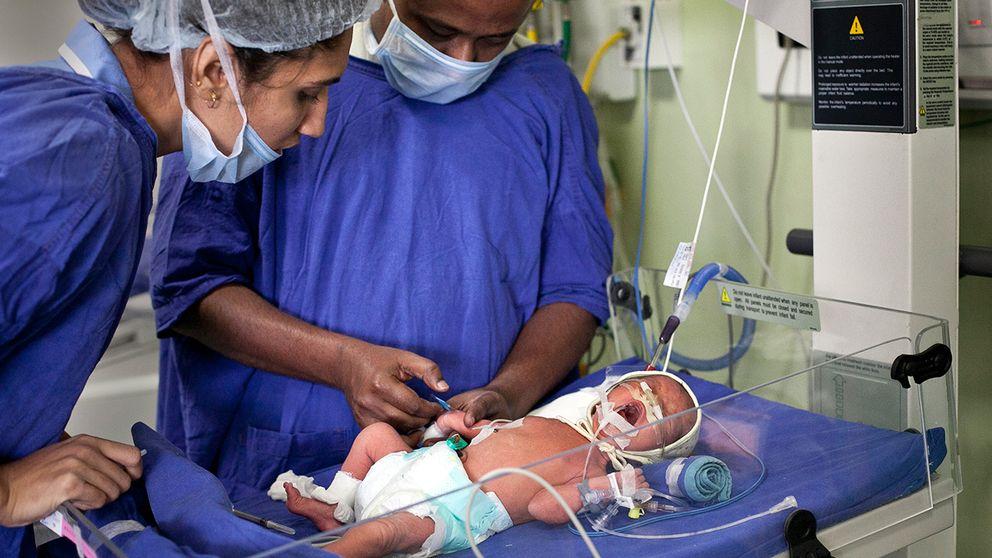 Moderaterna säger ja till reglerat surrogatmödraskap och vill att de barn som redan finns i Sverige ska omfattas av lagstiftning. Arkivbild.