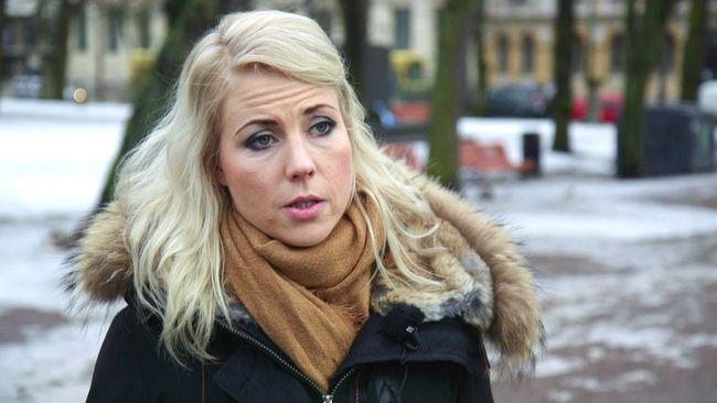 Jessikka Aro, journalist på finska tv-bolaget Yle.