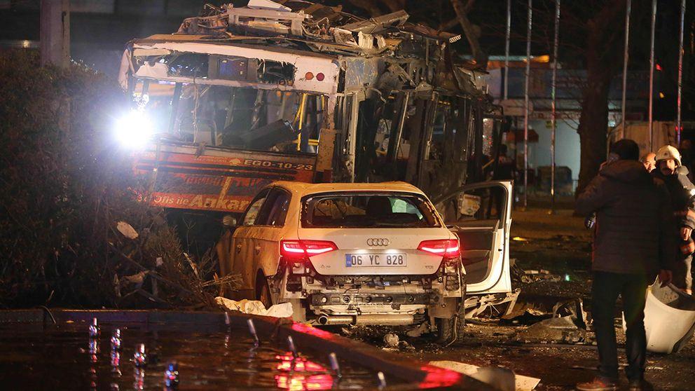 Myndigheterna antyder att kurdiska PKK ligger bakom bombdådet.