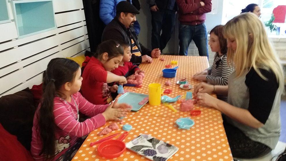 Öppna förskolan för EU-migranter drivs av Göteborgs räddningsmission