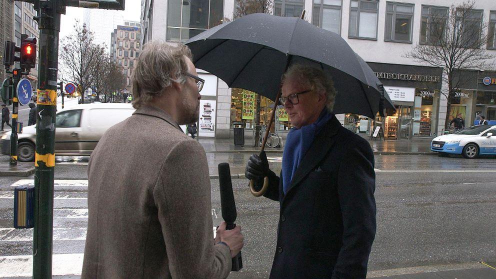 Staffan Andersson är en känd svensk skattejurist som tidigare figurerat i media. Den här gången vill han inte ställa upp.