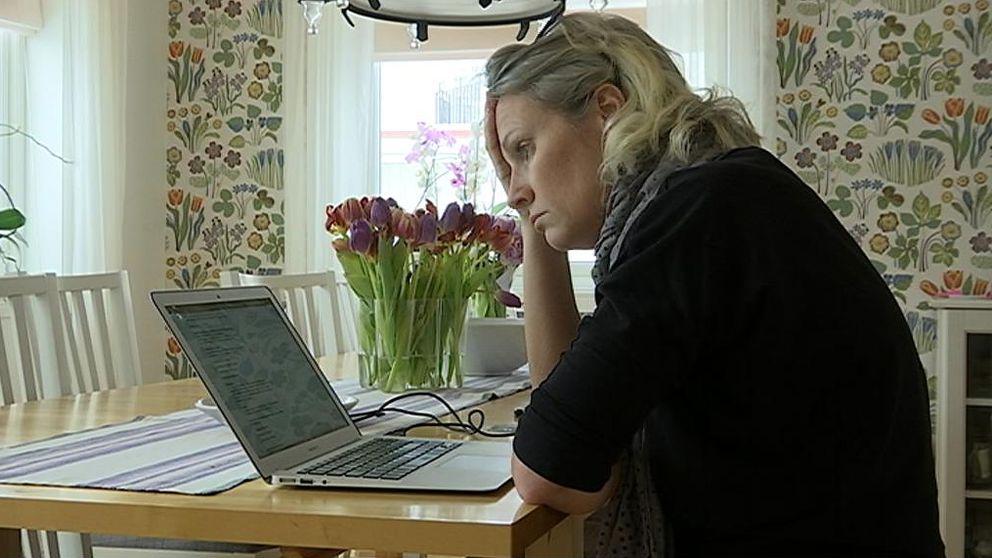 Anna Norberg har efter många år av buksmärtor äntligen fått en diagnos.