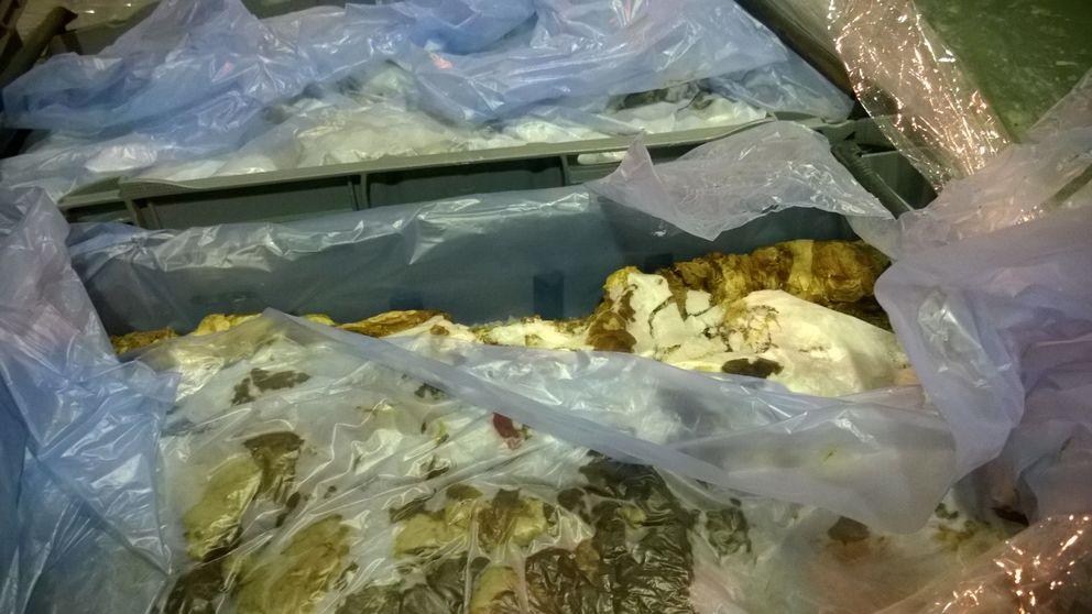 Kött från parti som stoppats