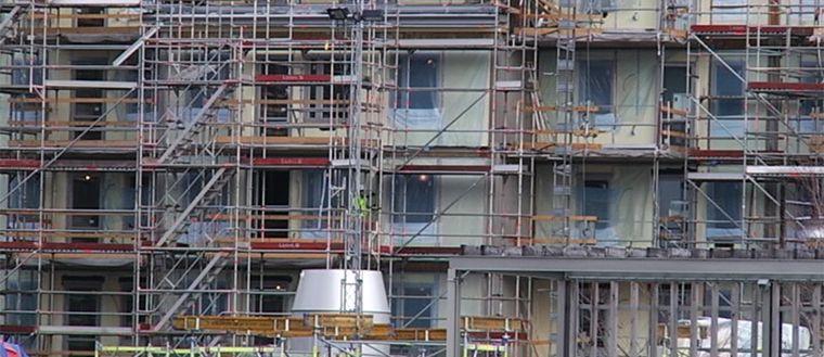 Bostadsbyggande fortsätter att öka, enligt siffror från Lantmäteriet.