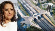Det nya stationsområdet i Upplands Väsby kan bli arkitekten Zaha Hadids sista verk.