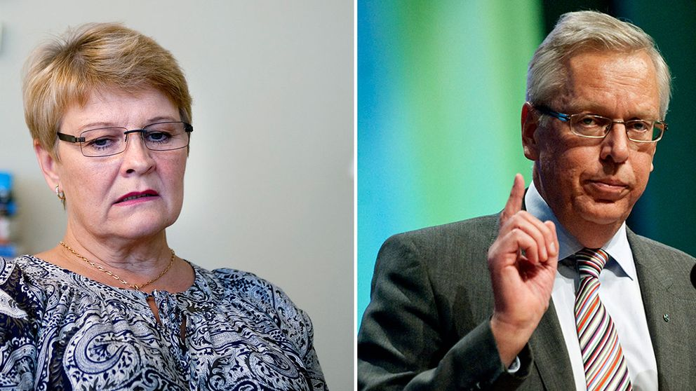 Maud Olofsson och Mats Odell