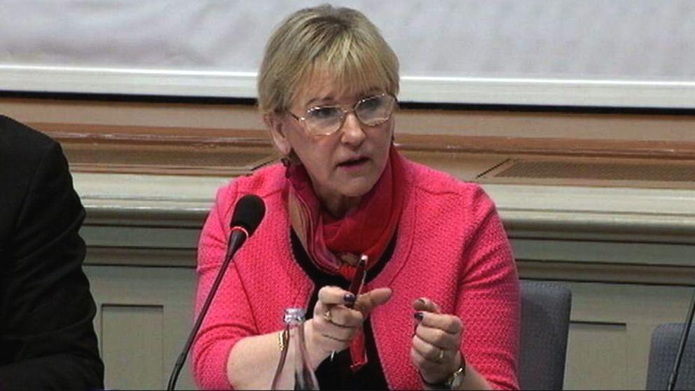 Utrikesminister Margit Wallström.