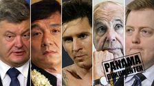 Ukrainas president Petro Porosjenko, filmstjärnan Jackie Chan och fotbollsspelaren Lionel Messi nämns i de läckta dokumenten. Även Anders Wall och Islands premiärminister Sigmundur Davíð Gunnlaugsson kan kopplas till dokumenten.