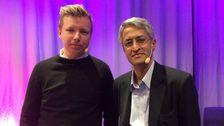 Emanuel Karlsten och Madhav Chinnappa