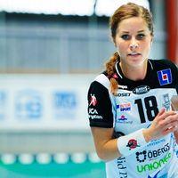 Elin Lindén är tillbaka i VästeråsIrsta efter ett år i Danmark.