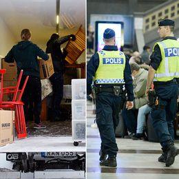 I vårbudgeten ryms extra satsningar på flyktingmottagandet, polisen och RUT-avdraget utökas till att bland annat innehålla flytt-tjänster.