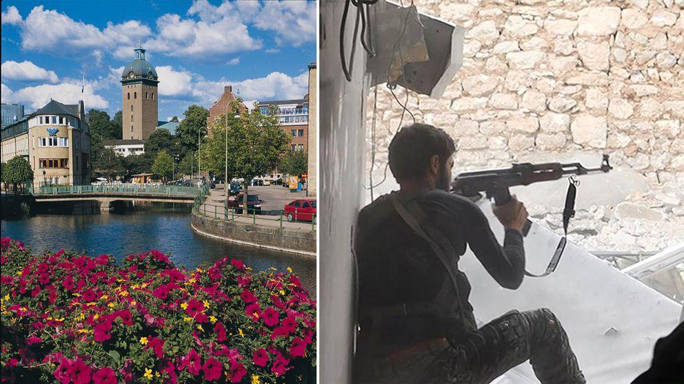 Sedan drygt ett halvår tillbaka arbetar två poliser i Borås heltid med att motverka våldsbejakande extremism och med att stoppa rekryteringen till IS.