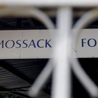 Mossack Fonsecas skylt i Panama City.
