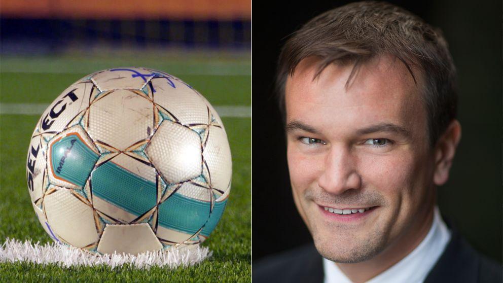 Till höger Gustaf Hoffstedt, branschföreningen för onlinespel