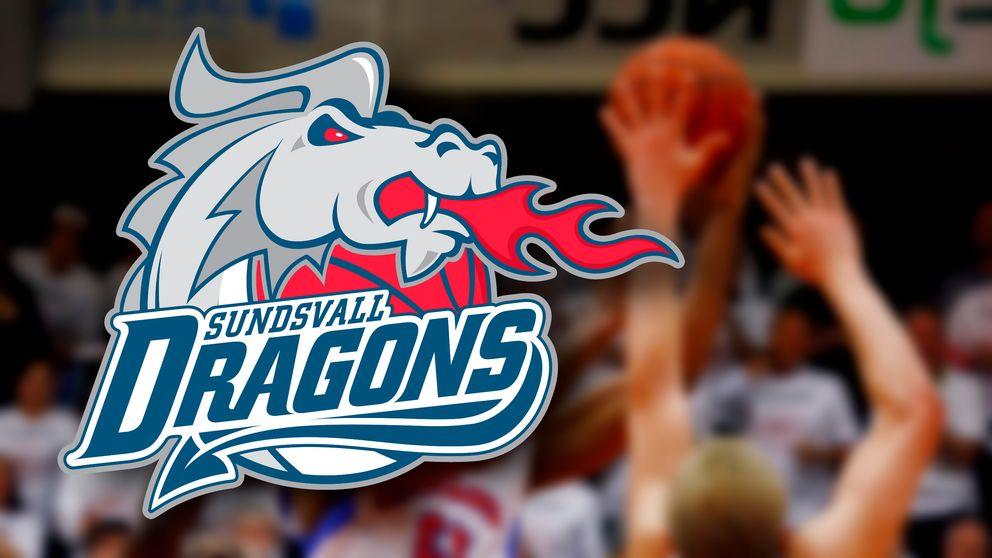 basketlaget Sundsvall Dragons logotyp