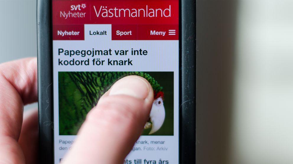 Vi på SVT Nyheter Västmanland är alltid intresserade av att komma i kontakt med våra tittare och besökare – vare sig det gäller nyhetstips eller synpunkter på det vi gör.