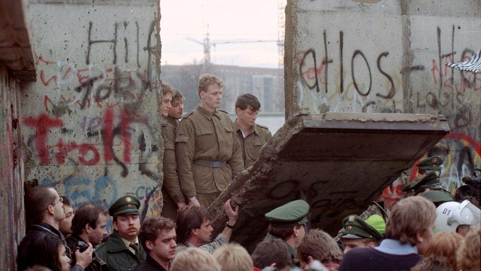 När muren revs trodde många att den eviga freden var här